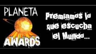 Planeta Awards - 30 Seconds To Mars Mejor Banda Rock del Año