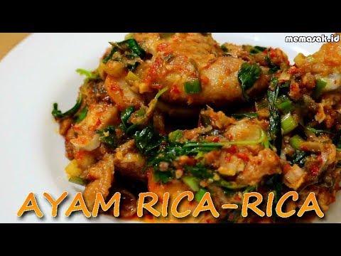 Resep Dan Cara Membuat Ayam Rica Rica Khas Manado