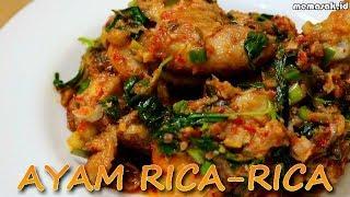 Resep dan Cara Membuat Ayam Rica-rica Khas Manado