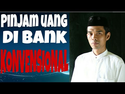 Hukum Pinjam Uang Di Bank Konvensional Ust Abdul Somad Youtube