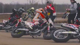 Insane footage of Marc Márquez, Jared Mees, Brad Baker practicing in Spain