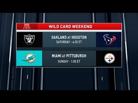 NFL Monday QB: AFC Wildcard predictions