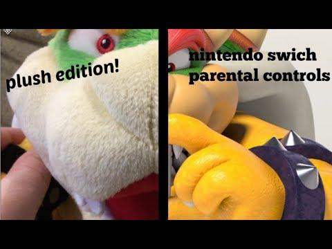 Nintendo switch parental controls plush edition