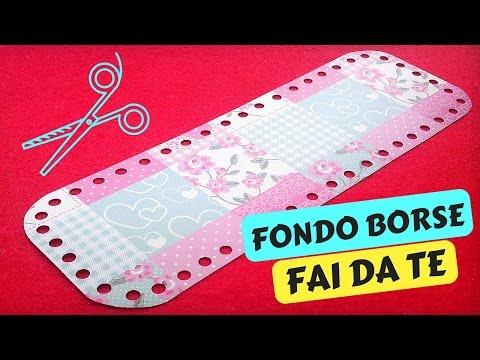 Tutorial FONDO per BORSE A UNCINETTO FAI DA TE   Katy Handmade
