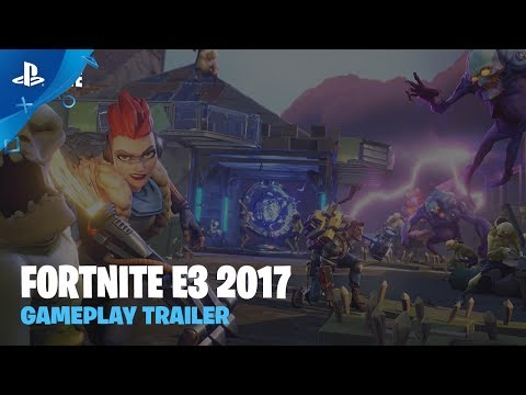 Fortnite - Gameplay Trailer | PS4