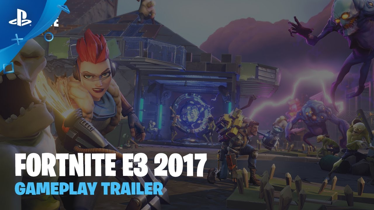 Fortnite Gameplay Trailer Ps
