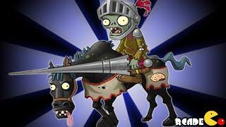 Plants Vs Zombies 2: New Zombies Horseman Zombie Dark Ages Gameplay