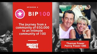 650k Online Community to an intimate one of 100 - Penny Power &amp Thomas Power