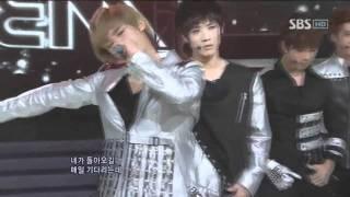 MBLAQ - Stay (엠블랙 - 스테이) @SBS Inkigayo 인기가요 20110206