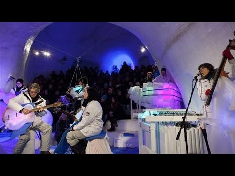 Musicians Jam on Instruments Made From Ice