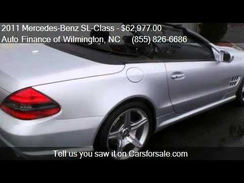 2011 Mercedes Benz SL Class SL550 For Sale In Wilmington, NC