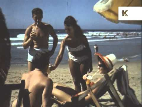 Late 50s early 60s Durban, Beach, Surfing, South Africa