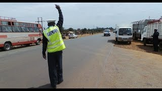 CAUGHT ON CAMERA: Kenya's traffic officer receiving a bribe live on tape