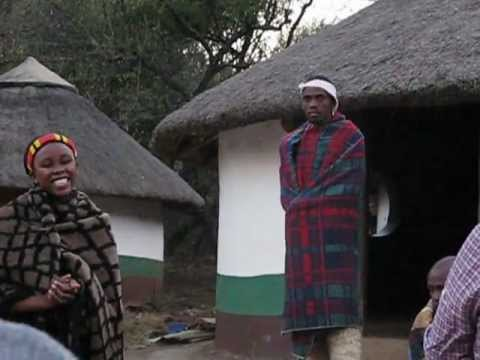 Xhosa Tribe Singing in Lesedi Village South Africa