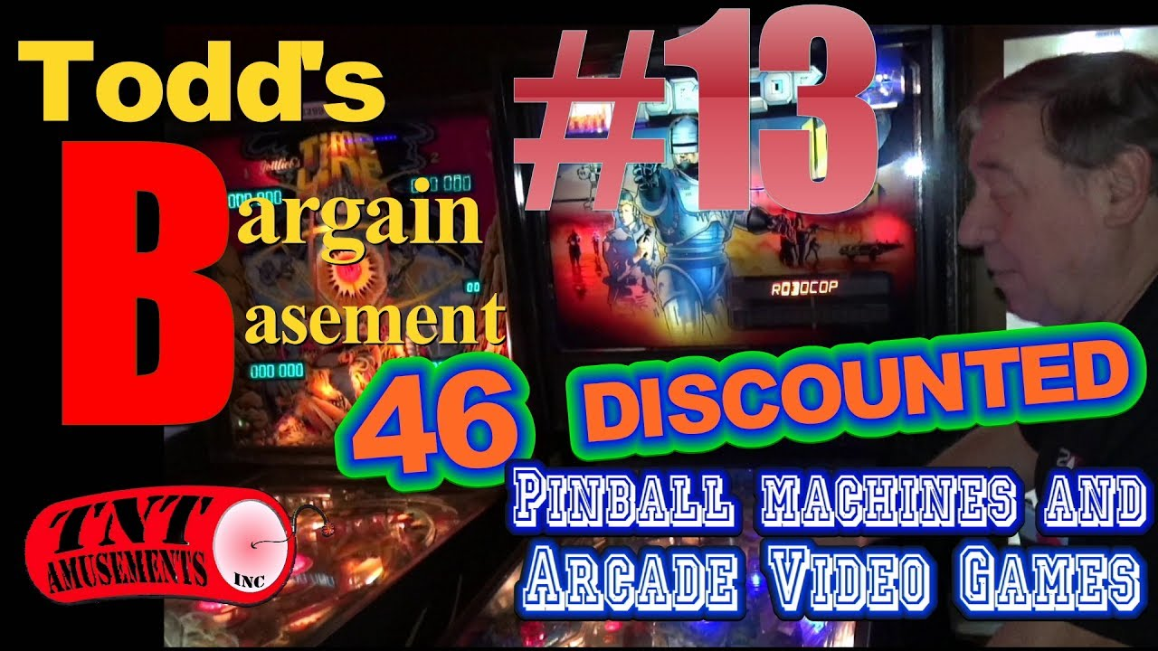 BARGAIN BASEMENT   DISCOUNTED Arcade Video Games - Bargain basement stores