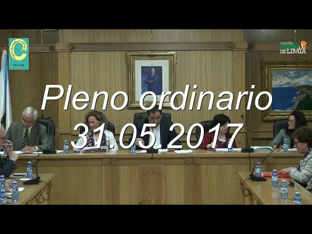 Pleno Ordinario 31.05.17