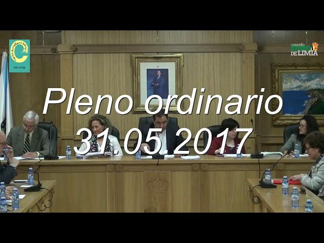 Pleno Ordinario 31.05.17