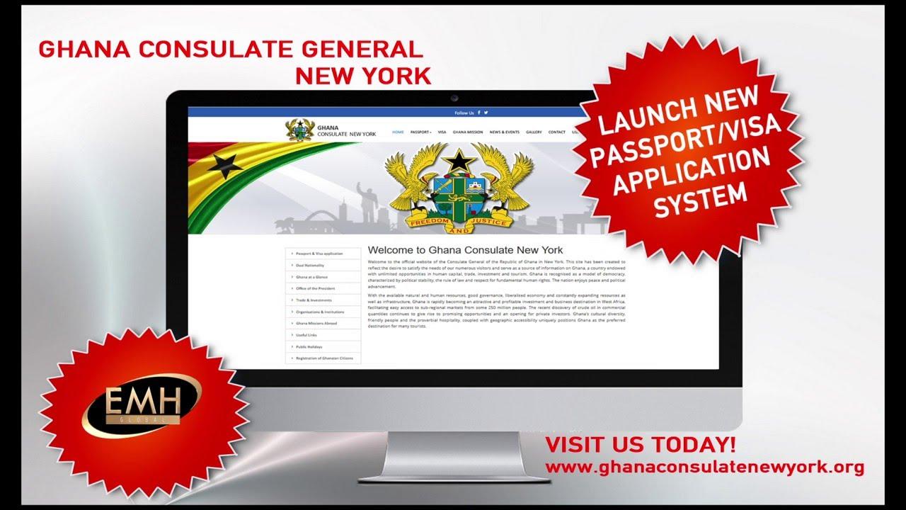 Ghana consulate general new york online visa and passport ghana consulate general new york online visa and passport application system youtube falaconquin