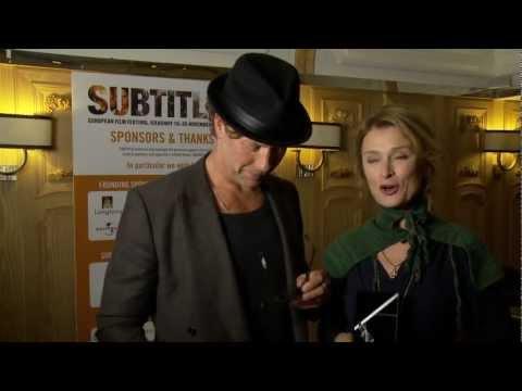 SUBTITLE 2012 Film Festival  Sweden  Lena Endre, Mikael Persbrandt & Jeanette Klintberg