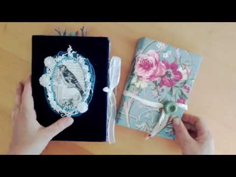 Two New Journals, Birdsong and Vintage Roses SOLD
