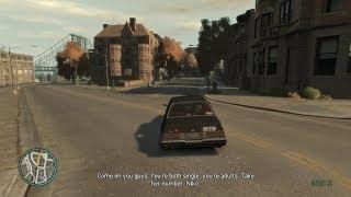 GTA IV - Three's A Crowd - Roman mission