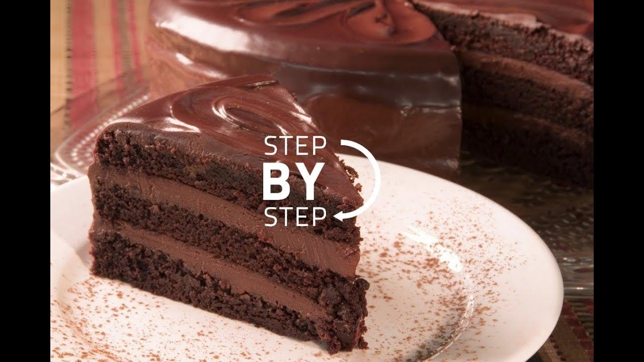 Chocolate cake recipe recipe for chocolate cake simple for Easy basic cake recipes from scratch