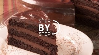 Chocolate Cake Recipe, Recipe For Chocolate Cake, Simple Chocolate Cake From Scratch
