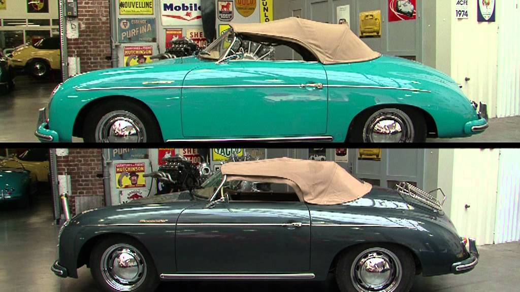 Fast Club - Porsche 356 VS Réplique 356 - YouTube