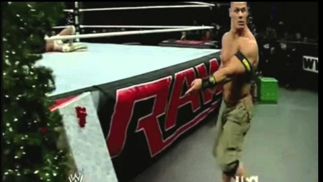 John Cena opens a Christmas present - YouTube
