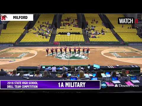 1A 3A 4A Drill Team UHSAA 2018 State 1A Finals 3A 4A Semifinals Pods 1 and 2