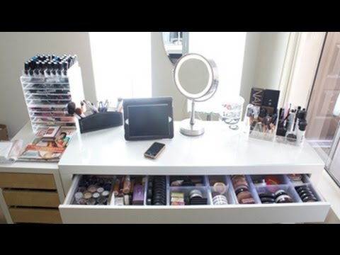 Makeup Collection Storage 2017 Vanity Tour
