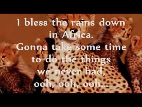 AFRICA (Lyrics) - TOTO