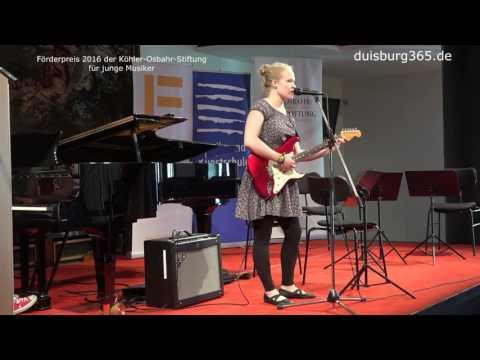 Foerderpreis der Koehler Osbahr Stiftung 2016   Miriam Schluenkes   MKS Duisburg