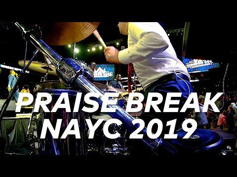 Friday Night Praise Break NAYC 2019 // Drum Cam