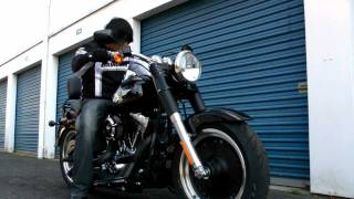2011 Harley Davidson Fat Boy Lo Walk Around and Rev