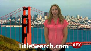 Property title records in Calaveras County California | AFX
