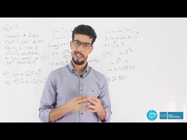 Révision Mathématiques Financières S2 #EP18_Exercice3
