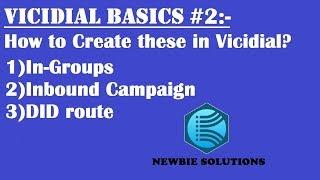 #2 كيفية إنشاء INGROUP الواردة الحملة ، هل الطريق في VICIDIAL | تعليمي |
