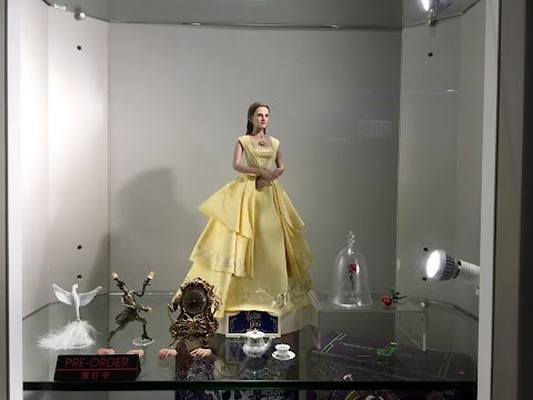 Belle prototype from Beauty and the Beast by Hot Toys on display at Secret Base HK
