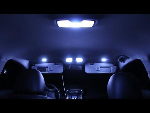 Hyundai Sonata Interior Lights Changing Originals With LED Lights Part #1