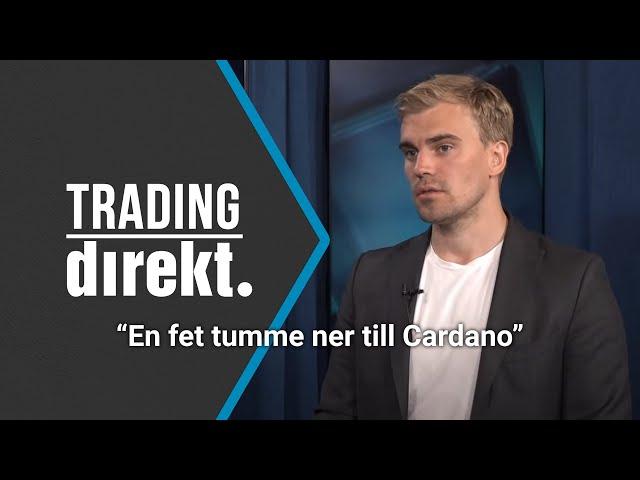 Trading Direkt 2021-05-25: Bitcoin, Doge, Ether, Cardano, Musk, Kina med Christoffer De Geer