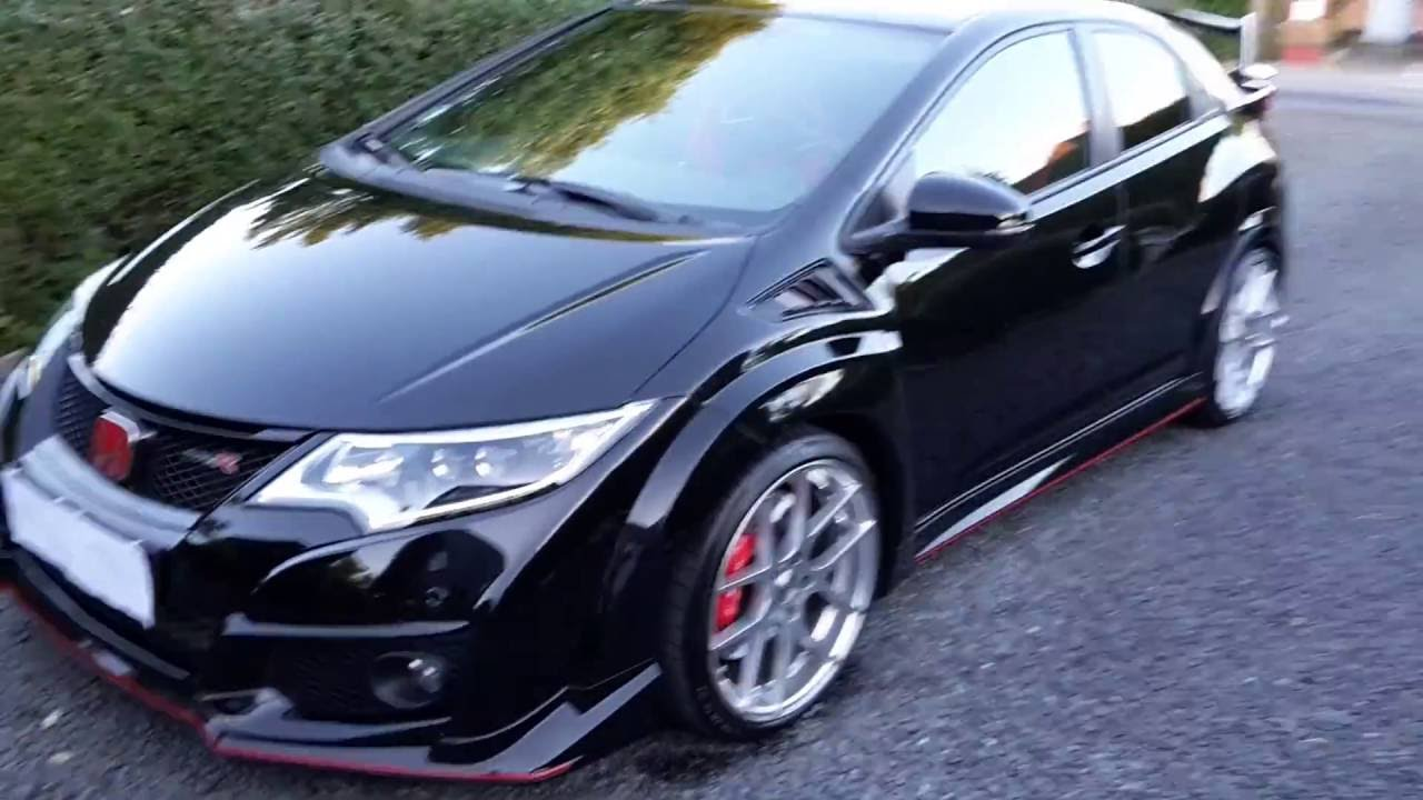new wheels change the honda civic type r 2016 to beautiful. Black Bedroom Furniture Sets. Home Design Ideas