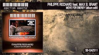 "Philippe Rochard feat. Max B. Grant ""move for energy"" (Album Edit) SB-DA2010"