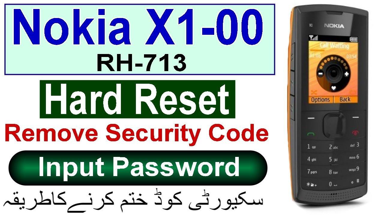 Crack Nokia 1280 Security Code