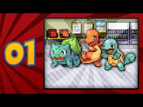 Pokémon FireRed Version - Episode 01 | I Choose You!
