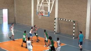 VIDEO 1º CUARTO CAJASOL CADETE B 48   C B  CAREBA JUNIOR 60  17 9 13