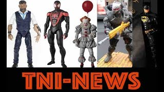 "TNINews: Marvel Legends Release Dates, MAFEX Miles Morales Spider-Man, 4"" Fortnite Figures & More"