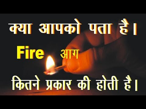 Types Of Fires And Extinguishing Agents (आग के प्रकार )