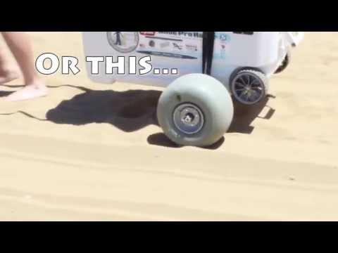 Wheeleez Cooler Beach Cart