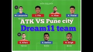 ATK VS FCPC Dream11 team ||Plating 11 || Match Prediction ||by Tech RBM